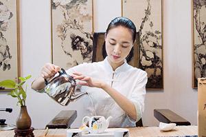 九狮寨茶艺师--李丹
