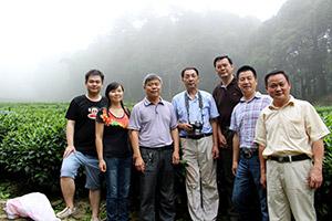 平江县领导考察九狮寨高山茶基地